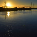 Another Sunset picture over the Ribble at Preston