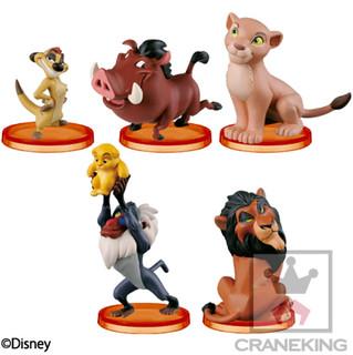WCF《迪士尼故事》系列第七彈 「獅子王」勇敢登場! story.07「ライオンキング」