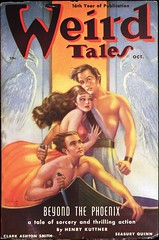 Weird Tales Vol. 32, No. 4 (Oct., 1938). Cover Art by Margaret Brundage