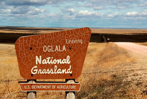 Leaving Oglala National Grassland
