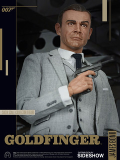 棒,真是棒!BIG Chief Studios - 《007:金手指》詹姆士‧龐德1/6 人偶 Goldfinger James Bond