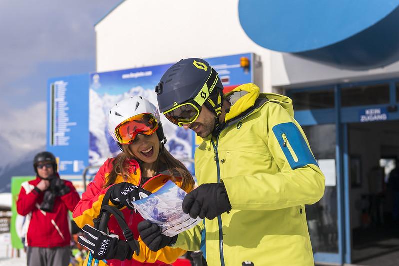 Winterstimmung im Skigebiet See