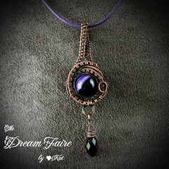 Peek of Purple Pendant