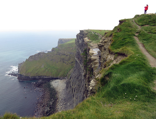 The Cliffs of Moher on the west coast of Ireland