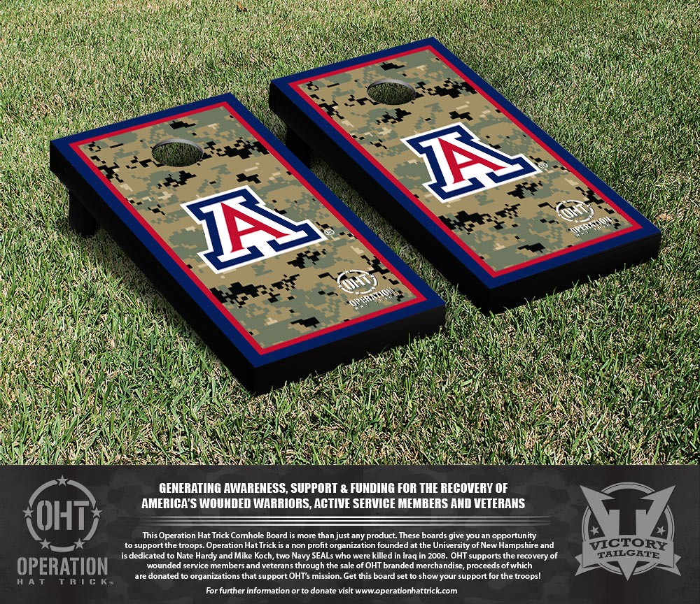 Arizona Wildcats Operation Hat Trick Border Version