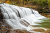 Enfield Creek waterfall, Robert H. Treman park by snapify