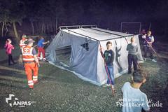 Anch'Io Sono La Protezione Civile: il montaggio della tenda
