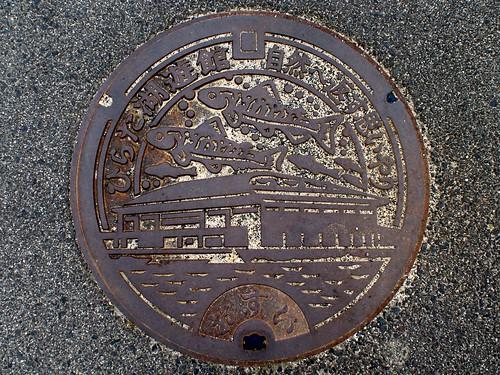 Hirata Shimane, manhole cover (島根県平田市のマンホール)
