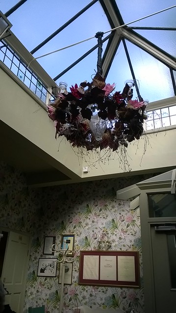 Quaint Cafe skylight