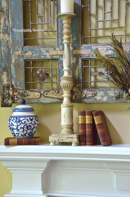 Fall Mantel 2015 - Housepitality Designs