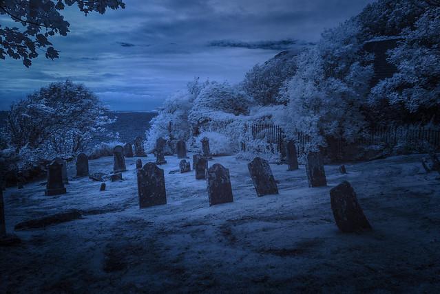 Kirkmaiden Churchyard (Infrared)