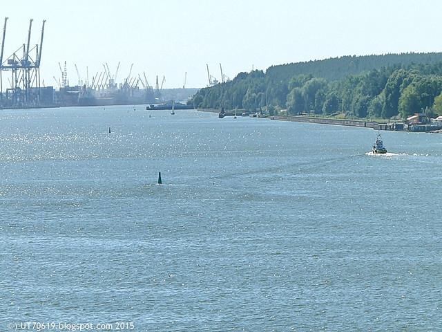 Hafen Klaipeda & Fähre zur Nehrung