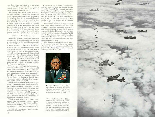 NATIONAL GEOGRAPHIC September 1965 (4) - U.S. Air Force: Power for Peace