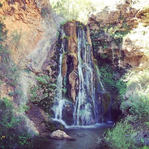 Salto de agua del Batán de #Bogarra #cascade #turismoalbacete a 5 min de VegaSierra #senderismo #landscape #slowtravel