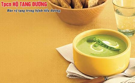 Súp cá hoặc súp rau là món ăn phù hợp cho người có đường máu cao