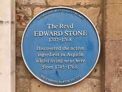 Photo of Edward Stone blue plaque