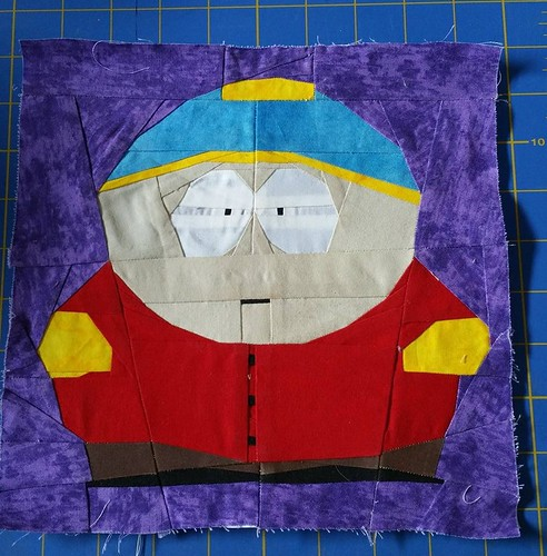 Eric Cartman from South Park seen by Lorna Harper