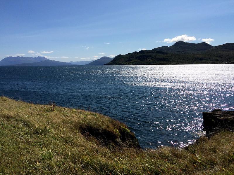 Alaska Sun on the Water