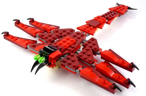 LEGO Creator 31032 Red Creatures 12