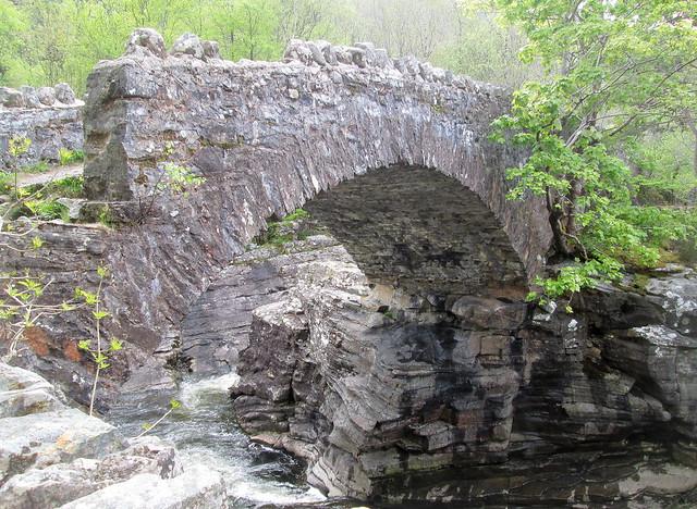 Arch of Thomas Telford's Bridge, Invermoriston