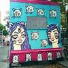 The #eyes have it @hissxx #StreetArt #urbanart #spray #graffiti #cat #lady #EastVillage #Manhattan #NYC