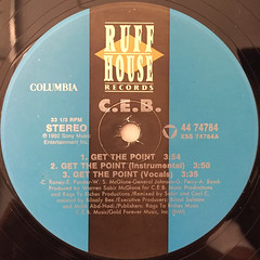 C.E.B.:GET THE POINT(LABEL SIDE-A)