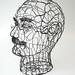 Wire Head 1 of 5 - side by Ruth Jensen