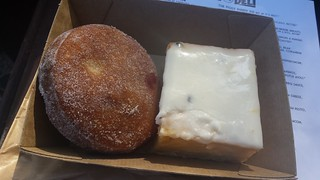 Jam Doughnut and Vanilla Slice from Smith & Deli