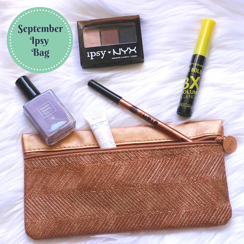 September 15 Ipsy Bag