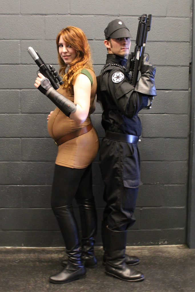 Mara Jade Pregnancy Costume A Photo On Flickriver