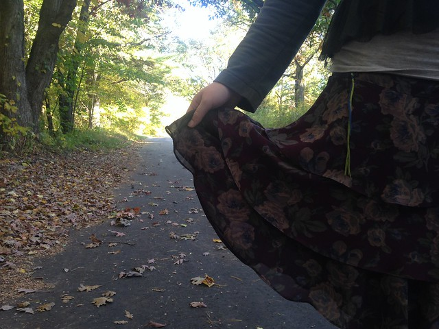 Outfit // Fall Flower