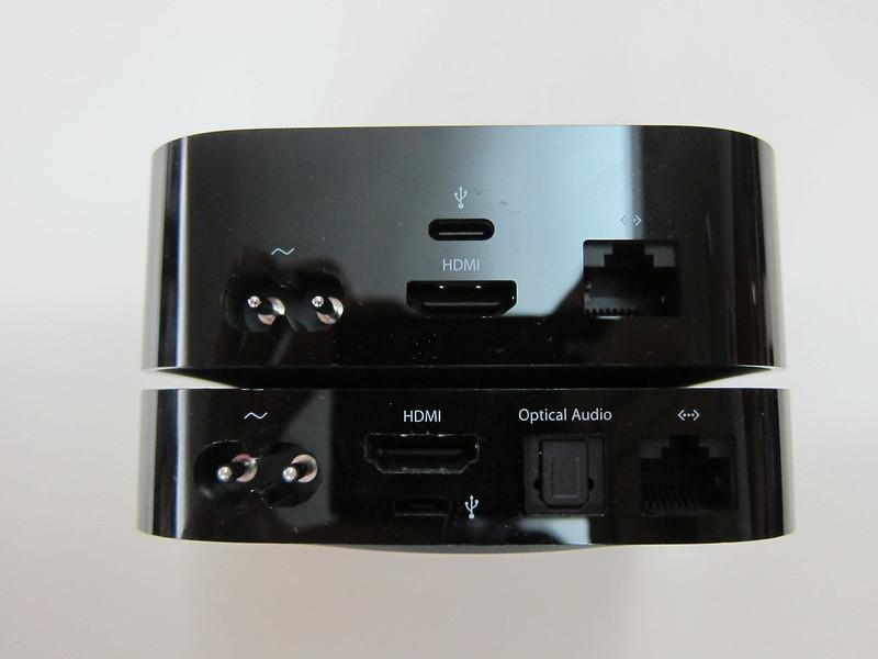 Apple TV (4th Generation) vs Apple TV (2nd Generation) - Ports