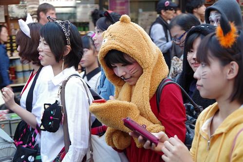 Cat's Halloween Parade in Kagurazaka 2015 15