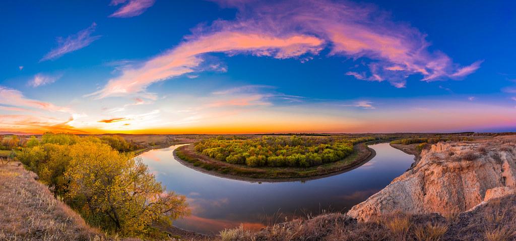 Lake Tschida Sunset 2