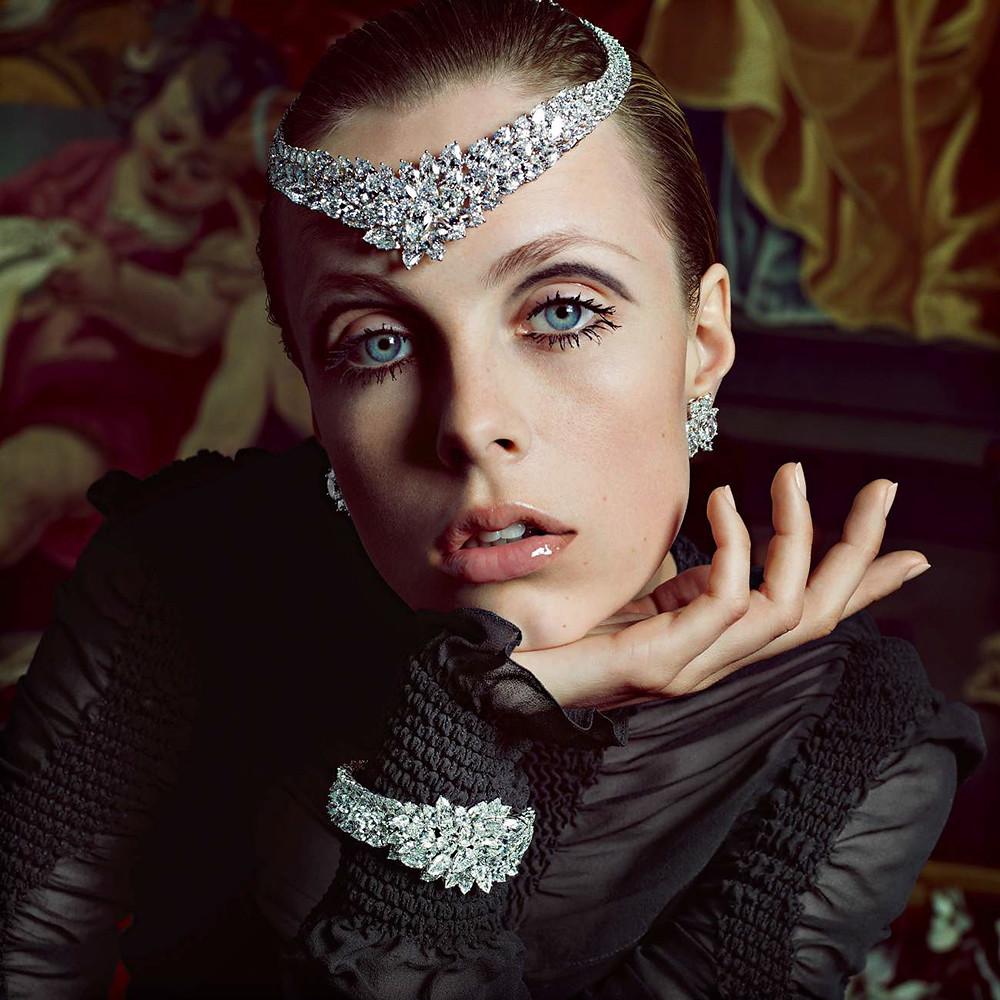 Эди Кэмпбелл — Фотосессия для «Vogue» FR 2015 – 2