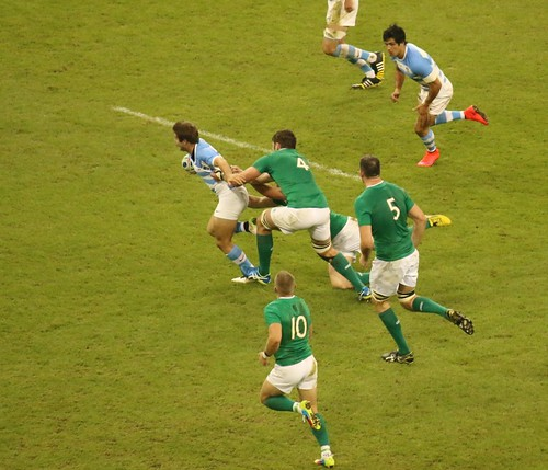 Ireland v Argentina, Rugby World Cup Quarter Final