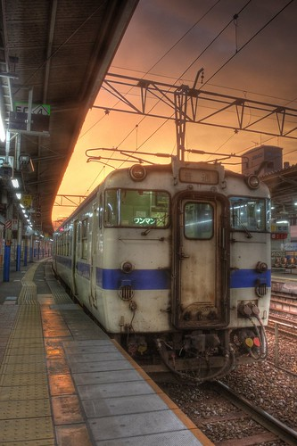 Morning at Kokura Station on OCT 27, 2015 (4)