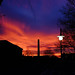 That night the sky caught fire by geoffmart65