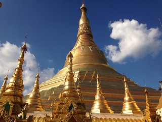 Image of Shwedagon Pagoda.