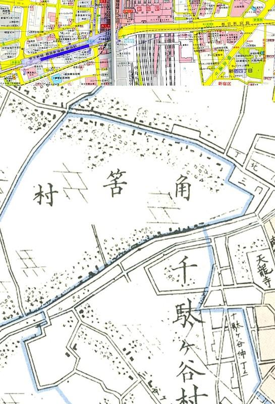 新宿駅南口地区基盤整備事業と玉川上水 (6)
