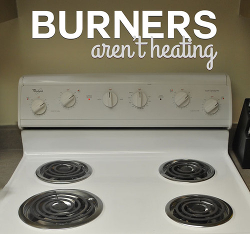 No burners are working on electric stovetop