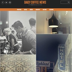r.e. ~ posted a photo:	Stop by Daily Coffee News, more images and a nice article about Civil Coffee:Civil Coffee, Highland Park at Daily Coffee News