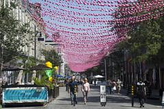 Montreal's Gay Village - Saint Catherine Street East