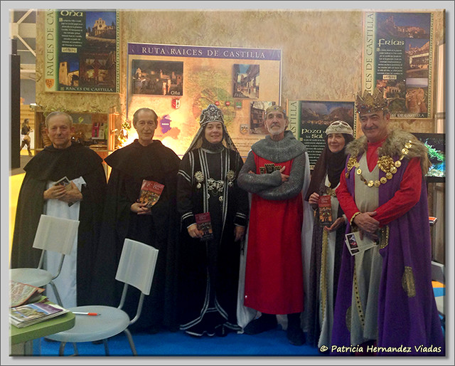 2 El Cronicón de Oña y Raices de Castilla en INTUR 2015