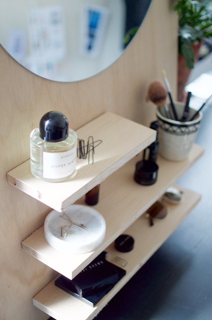 DIY Pine Make Up Vanity | A Pair & A Spare