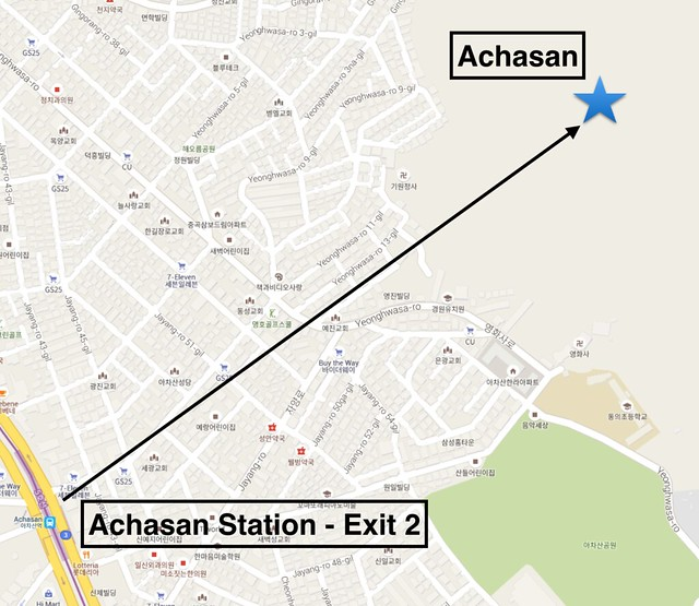 Achasan Map