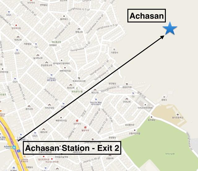 Achasan Map
