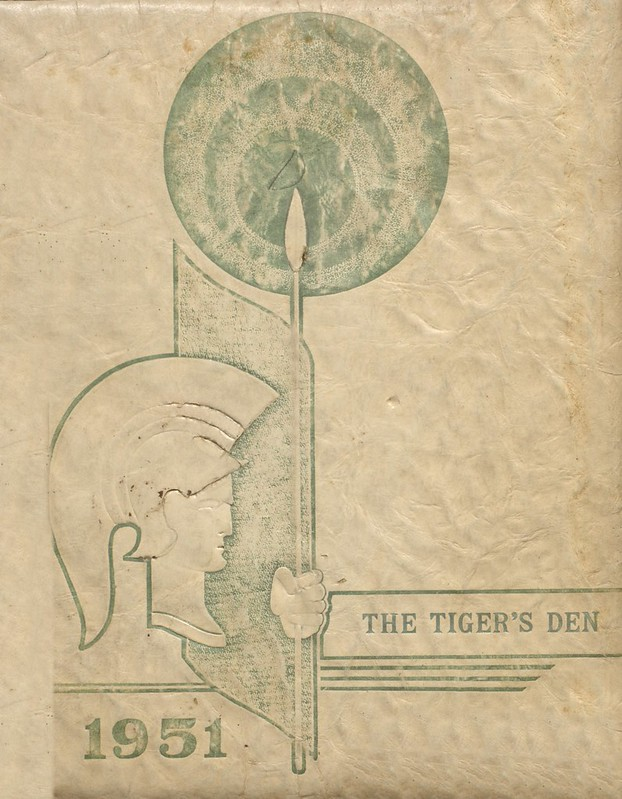 1951 Greenup County Yearbook