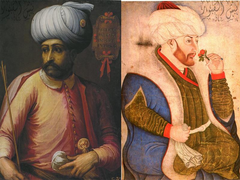محمد الفاتح وسليم ياورز