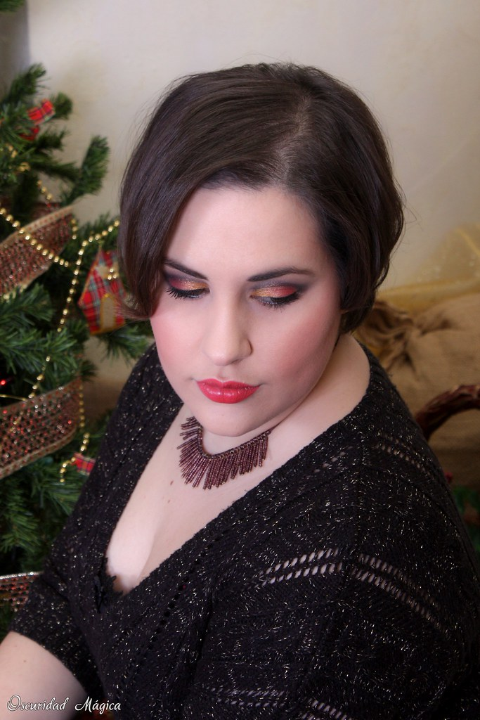 Makeup Golden Rose (christmas)